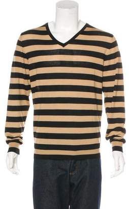 Burberry Wool-Blend Striped Sweater