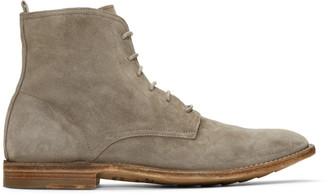 Officine Creative Grey Standard 7 Boots