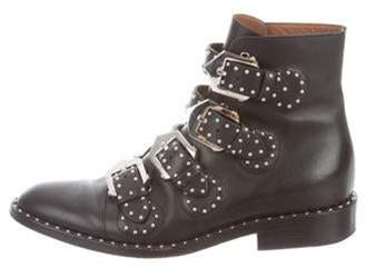 Givenchy Elegant Studded Ankle Boots Black Elegant Studded Ankle Boots