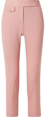 Veronica Beard Renzo Crepe Tapered Pants - Baby pink