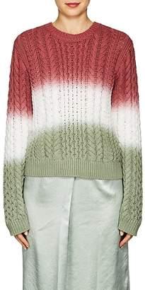 Sies Marjan Women's Britta Dip-Dyed Cotton Sweater