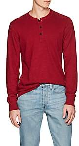 Rag & Bone MEN'S COTTON SLUB JERSEY HENLEY