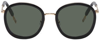 Gentle Monster Black Ollie Sunglasses