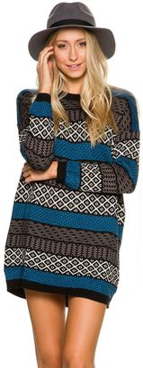 Element Arty Sweater Dress $59.95 thestylecure.com