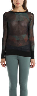 Warehouse 10 Crosby Derek Lam U Neck Sweater