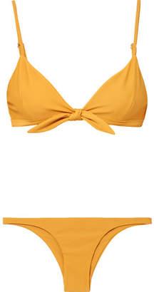 Faithfull The Brand Triangle Bikini - Marigold