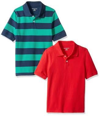 Amazon Essentials 2-Pack Uniform Pique Polo Shirt