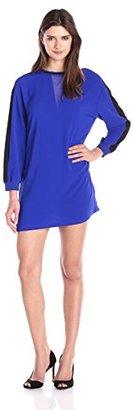 Eleven Paris Women's Crepe Long Sleeve Dress $108 thestylecure.com