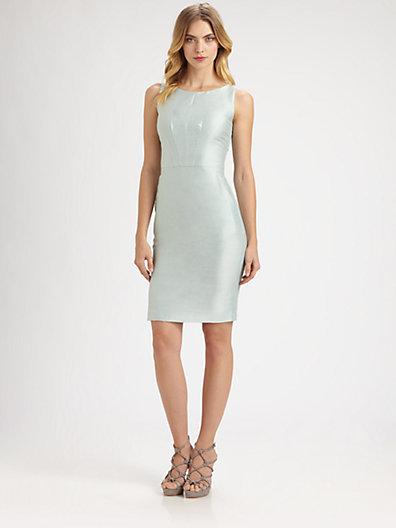 Armani Collezioni Shantung Dress