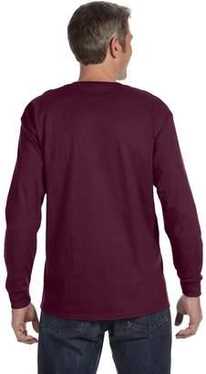 Blend of America Jerzees Mens Heavy Cotton/Poly Long Sleeve T-Shirt, 2XL
