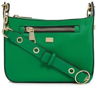 Star by Julien Macdonald Green Zip Detail Cross Body Bag