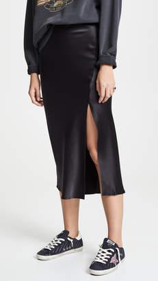 Anine Bing Dolly Silk Skirt