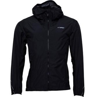 adidas Mens TERREX Fast-Pack 2.5-Layer Jacket Black