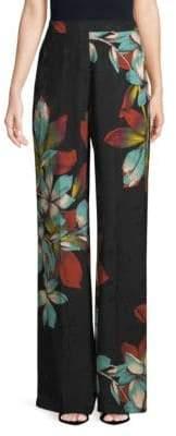 Etro Floral Wide-Leg Pants