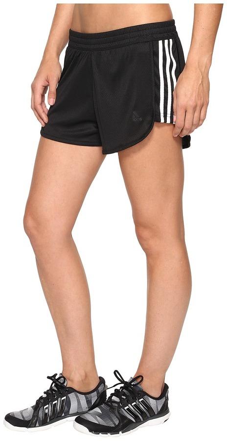 adidas - 3-Stripes Knit Shorts Women's Shorts