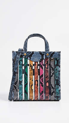 Anya Hindmarch Multi Stripes Tote Mini