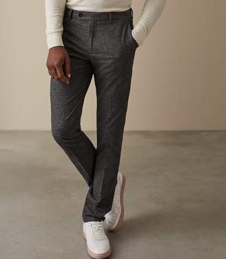 Reiss Equator Textured Tailored Trousers