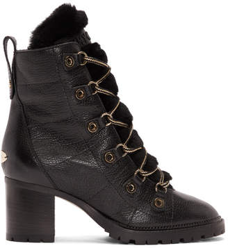 Jimmy Choo Black Hillary 65 Boots