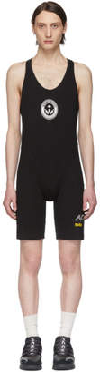 adidas By Alexander Wang by Alexander Wang Black Graphic 80s Bodysuit