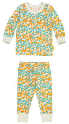 Masala Baby Organic Cotton Fitted Two-Piece Pajamas