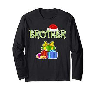 Brother Christmas T-Shirt Funny Christmas Elf Gift Shirt
