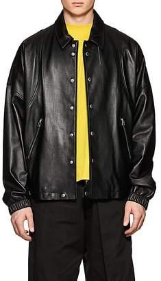 Helmut Lang Men's Lambskin Coach's Jacket