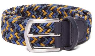 Andersons Anderson's - Woven Elasticated Belt - Mens - Blue Multi