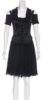 Rena Lange Silk Skirt Set
