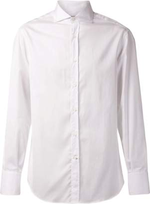 Brunello Cucinelli Solid Collar Shirt
