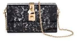 Dolce & Gabbana Dolce& Gabbana Dolce& Gabbana Women's Lace Box Bag - Pink