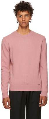 DSQUARED2 Pink Fin.7 Sweater