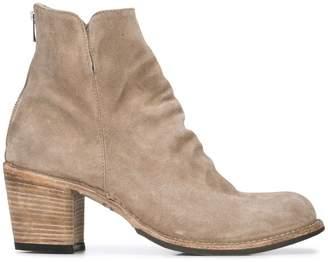 Officine Creative block heel ankle boots