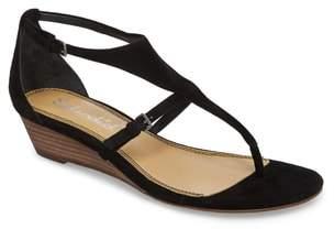 Splendid Brooklyn V-Strap Wedge Sandal