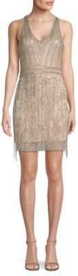 Parker Black Becky Embellished Dress