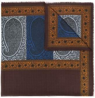 Saint Laurent Pre-Owned paisley print scarf