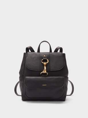 DKNY Randall Washed Leather Backpack