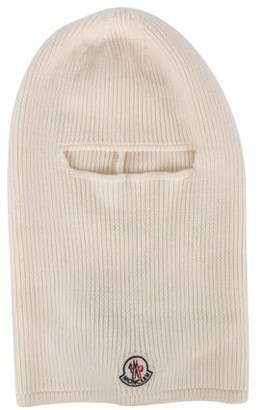 Moncler Virgin Wool Face Mask w/ Tags