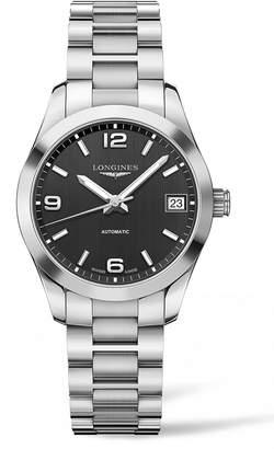 Longines Conquest Classic Automatic Bracelet Watch, 34mm