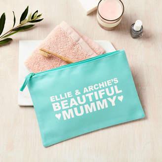 Tillie Mint Loves Personalised Large Wash Bag