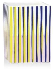 Lenox Domino Technic Striped Square Short Vase/Tumbler - 100% Exclusive