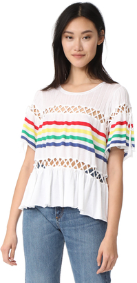 Wildfox South Beach Stripe Top $188 thestylecure.com