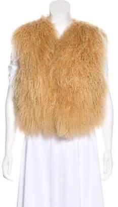 Gucci Mongolian Lamb Vest