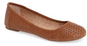 Women's Lucky Brand Eaden 2 Perforated Flat