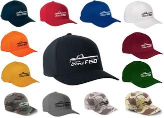 Flexfit Maddmax Car Art 1973-77 Ford F150 Pickup Truck Classic Outline Design Hat Cap Large/XLarge