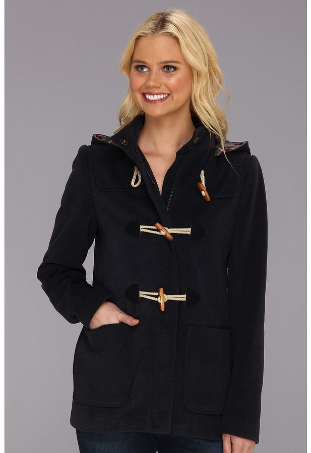 Tommy Hilfiger Short Toggle Coat (Navy) - Apparel