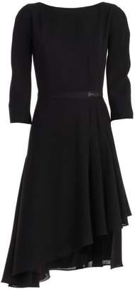 Lanvin Asymmetric Hem Dress
