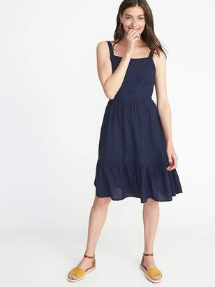 Old Navy Apron-Front Fit & Flare Dress for Women