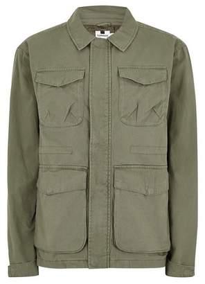 Topman Mens Khaki Utility Jacket