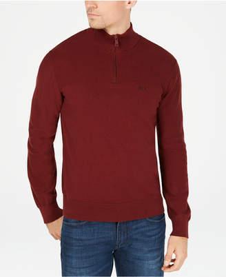 Armani Exchange Men Quarter-Zip Sweater