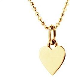 Jennifer Meyer Yellow Gold Heart Necklace